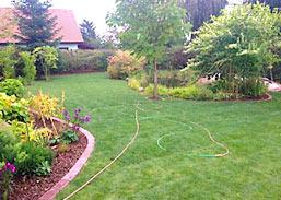 Der neue Rollrasen in Lützen nebst Gartengestaltung von Rollrasen Schirmer